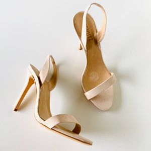 Schutz Luriane Suede Dress Sling Sandal